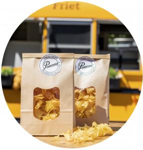 defrieschoolbus.nl | verhuur friet(foodtrucks) | Nederland | zakjes chips